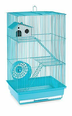 Prevue Hendryx Three Story Hamster and Gerbil Cage Mint Green New