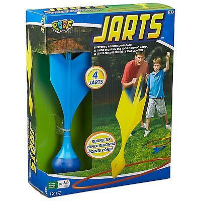 POOF Jarts Dart Target Lawn Game with Safe Round Tips New