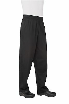 Chef Works Men's Essential Baggy Chef Pant (NBBP) Medium New