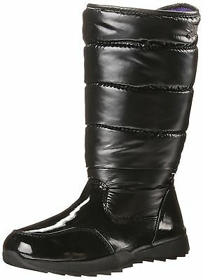 Cougar Tizzy Girl's Winter Boots Black Shimmer 2 M US New