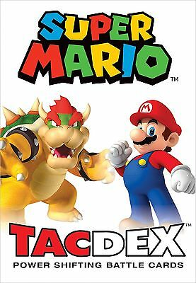 USAOPOLY Super Mario TacDex Card Game New