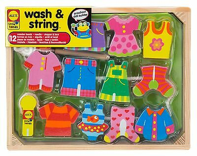 ALEX Toys - Early Learning Wash & String - Little Hands 1486W New
