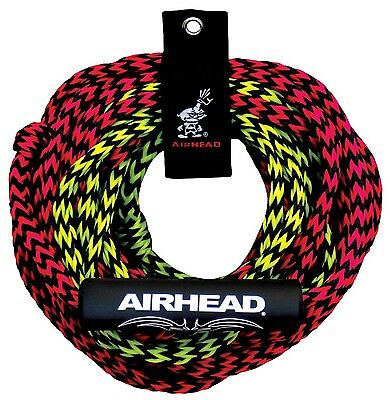 Kwik Tek Airhead 2 Rider Tube Rope 2 Section Float New