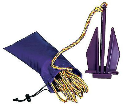 Kwik Tek A-5 PWC Fluke Anchor with Nylon Bag and Rope New