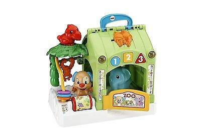 Fisher-Price Laugh & Learn Smart Stages Activity Zoo - French Edition New