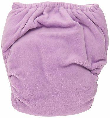 Thirsties Duo Fab Fitted Cloth Diaper with Hook and Loop Orchid Size 2 New