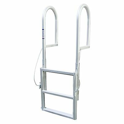 Extreme Max Products 3005.346 Sliding Dock Ladder 3 Step New