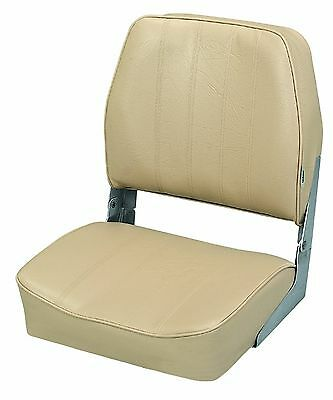 The Wise Company Embossed Vinyl Standard Folding Boat Seat Sand New