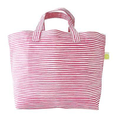 See Design Square Tote Strings Pink One Size New