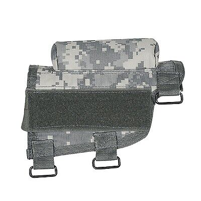 VooDoo Tactical 20-9421075000 Buttstock Cheek Piece with Ammo Carrier Arm... New