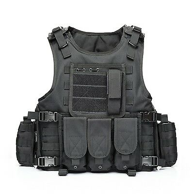 YAKEDA Tactical Vest Outdoor Equipment Army fans field tactical vests for... New