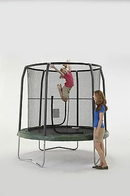 Bazoongi Jump Pod Trampoline with Enclosure 7.5-Feet New