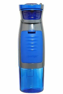 Contigo AUTOSEAL Kangaroo Water Bottle with Storage Compartment 24-Ounce ... New