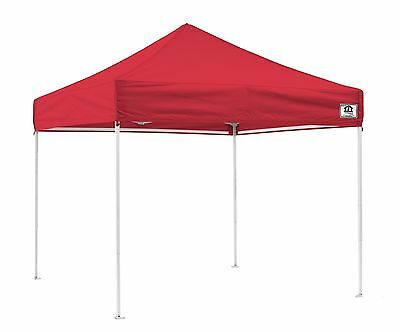 Impact Canopies Easy Pop Up Tent 10x10 Canopy Tent Red New