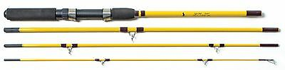 Eagle Claw Pack-It Spin and Fly Rod 4 Piece New