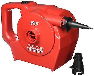 Coleman 120V Rechargeable Air Pump Universal Rechargeable Pump New