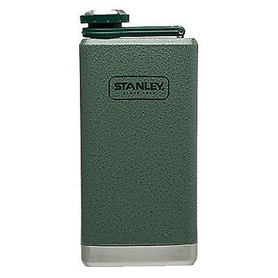 Stanley Adventure Stainless Steel Flask Hammertone Green 8-Ounce New
