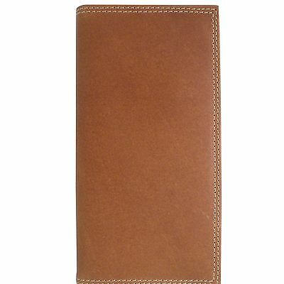 Canyon Outback Crazy Horse Blocking Long Wallet-Tan Distressed Tan One Size New
