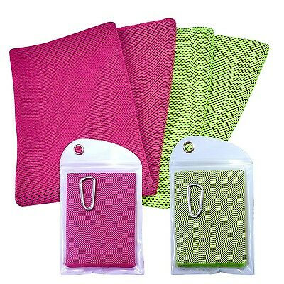 Yazer Lightweight Instant Cooling Towels Best for Sports and OutdoorGym F... New