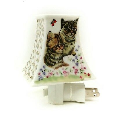 Adeline or Dreamerz NL207 Two Cats in The Garden Night Light New