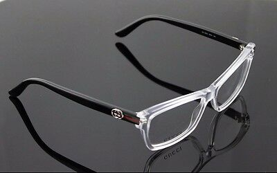 28127c5330 RARE New Genuine GUCCI Crystal Black EyeGlasses Frame Glasses GG 3562 MNG  14 RX