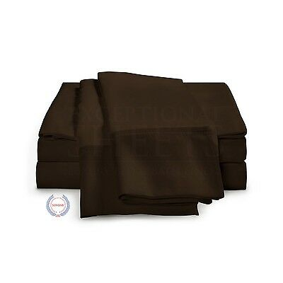 530 Thread Count - Egyptian Cotton Sheet Set by ExceptionalSheets Full Ch... New