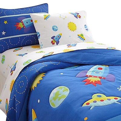 Wildkin Olive Kids Out of This World Full Comforter Set New