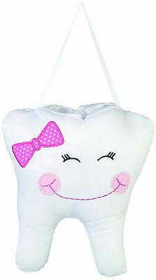 "Lillian Rose Tooth Pillow Pink Cap 6.5"" x 7.5"" 6.5"" x 7.5"" New"
