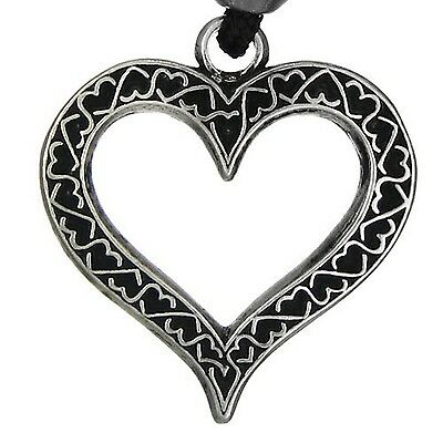 Heart of Hearts Victorian Love Pendant Talisman Amulet Jewelry New