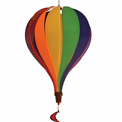 In the Breeze 12 Panel Rainbow Hot Air Balloon New
