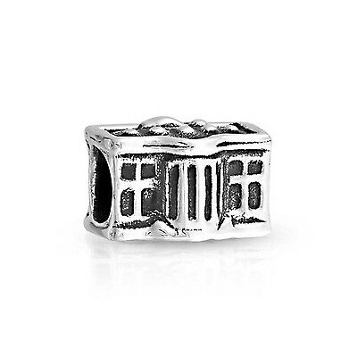 Bling Jewelry 925 Sterling Silver American Flag White House Patriotic Bea... New