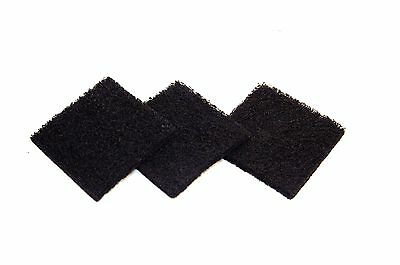Exaco ECO 2500 Pack of Three Replacement Carbon Filters For Kitchen Compo... New