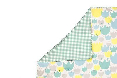 babyletto Tulip Garden Play and Toddler Blanket New