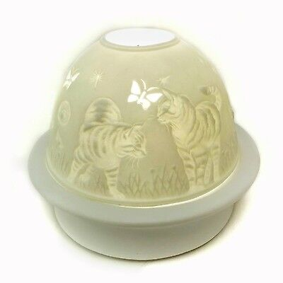 Dreamerz DNL20054 Cats Playing with Butterflies Dome Light New