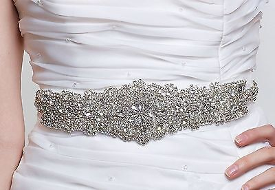Beaded Belt-Rhinestone Sash Belt-Bridal Sash-Bride Belt-Bridesmaid-Weddin... New