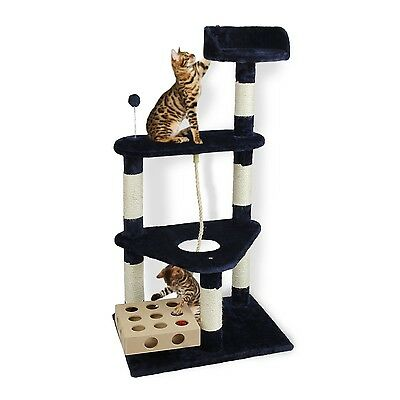 Furhaven Pet Products Rope and Cat-IQ Toys Tiger Tough Furniture Tree Tri... New