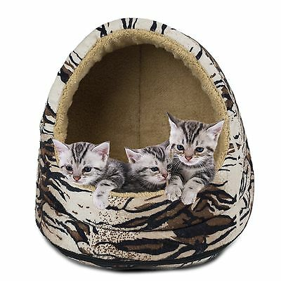 Furhaven Pet Products Animal Fur Hood Tiger New