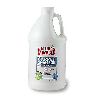 Nature's Miracle Carpet Shampoo Deep Cleaning Stain & Odor Remover New