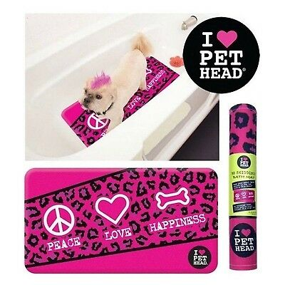 Bath Mat for Dogs and Cats Pet Accessories Pink 15.5inch x 27inch New