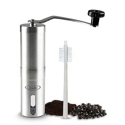 Precision Burr Mill Manual Coffee Grinder Espresso Grinder for Gourmet Co... New