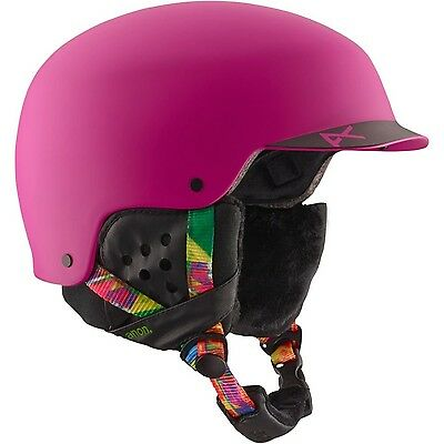 Womens Anon Galena Helmet Glitchy Pink Large New