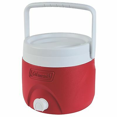 Coleman 2-Gallon Party Stacker Jug (Red) Red New