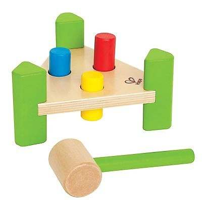 Hape Little Pounder Toddler Wooden Hammering and Music Toy New