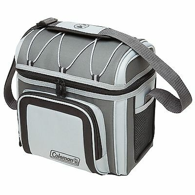 Coleman 12 Can Soft Cooler Grey New