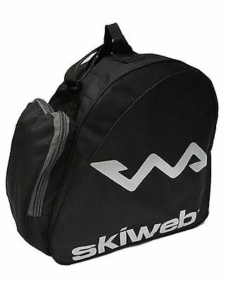 Ski Boot Bag. Holds One Pair of Ski Boots Plus Zipped Side Pocket New