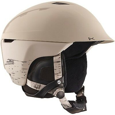 Womens Anon Galena Helmet Birch White Small New
