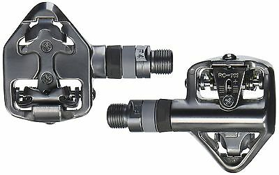 Wellgo 001-WP-RC-713 Shimano SPD Sealed Bearing Road Pedals (Silver) New