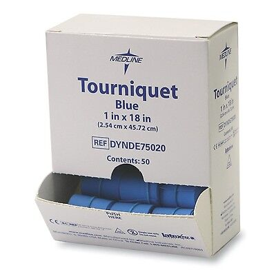 Medline DYNDE75020 Latex Free Tourniquets (Pack of 1000) New