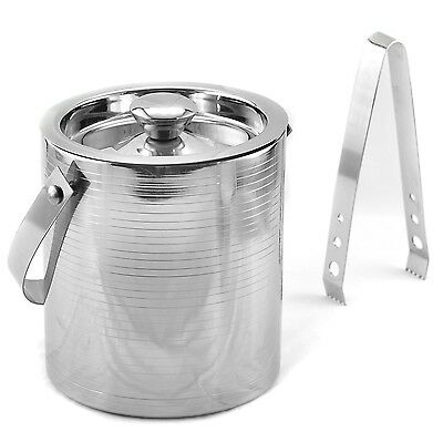 Tannex City Double Wall Ice Bucket Stainless Steel New