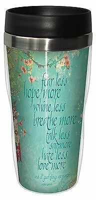 Tree-Free Greetings 78180 Angi and Silas Fear Less Sip 'N Go Stainless Li... New